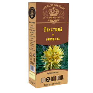 TINCTURA DE GHINTURA (Gentiana Lutea), 500 ml, Ambro Plant