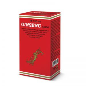 GINSENG SIROP 120 ml, Pharco Impex