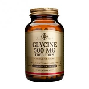 GLYCINE 500 mg, 100 capsule, Solgar