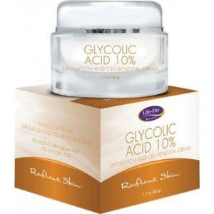 GLYCOLIC ACID 10% CREAM 48 g, Life-flo
