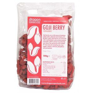 GOJI BERRY RAW BIO, 100 g, Dragon Superfoods