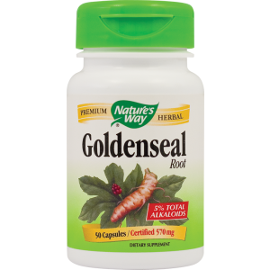 GOLDENSEAL 50 capsule, Nature's Way