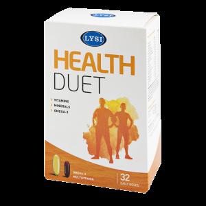 HEALTH DUET (Omega 3 + Multivitamine si Multiminerale), 32 doze zilnice, Lysi