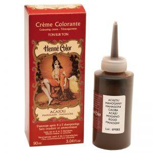 CREMA COLORANTA Acajou 90 ml, Henne Color