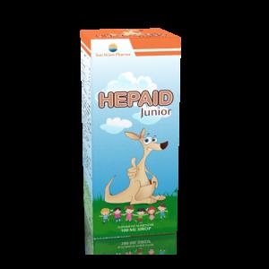 HEPAID JUNIOR SIROP 100 ml, Sun Wave Pharma