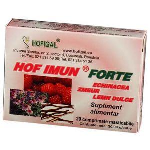 HOF. IMUN FORTE 20 comprimate, Hofigal