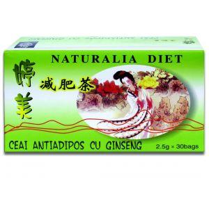 CEAI ANTIADIPOS CU GINSENG, 30 doze x 2.5 g, Naturalia Diet