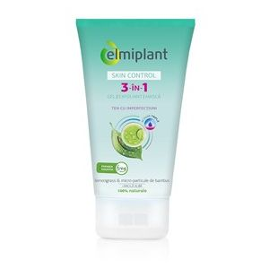 GEL EXFOLIANT MASCA 3 IN 1 SKIN CONTROL, 150 ml, Elmiplant