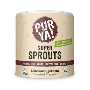 SUPER SPROUTS SEMINTE DE IN GERMINATE RAW BIO, 200 g, Pur Ya!