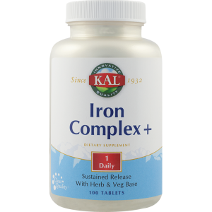 IRON COMPLEX+ SR 100 capsule, Kal