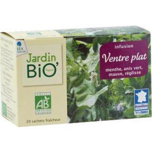 ABDOMEN PLAT BIO, Ceai 20 plicuri x 1.5 g, Jardin Bio