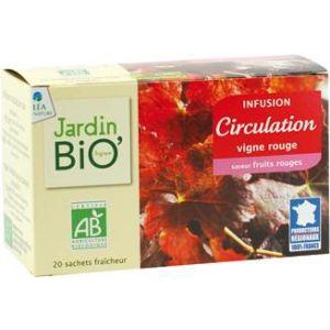 CIRCULATIE BIO, Ceai 20 plicuri x 1.5 g, Jardin Bio