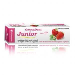 GENNADENT JUNIOR - Pasta de dinti, 50 ml, Vivanatura