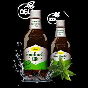 KOMBUCHA LIFE CU FLORI DE SOC 500 ml