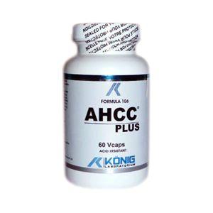 AHCC PLUS FORTE 700 mg, 60 capsule gastrorezistente, Konig Laboratorium