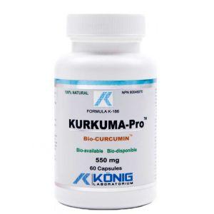 KURKUMA PRO 550 mg, 60 capsule, Konig Laboratorium