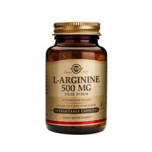 L-ARGININE 500 mg, 50 capsule, Solgar