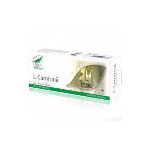 L- CARNITINA, 30 capsule, Laboratoarele Medica