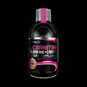 L-CARNITINE 70.000 + CHROME, 500 ml, Biotech Nutrition