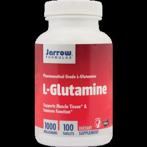 L-GLUTAMINE 1000 mg 100 tablete, Jarrow Formulas