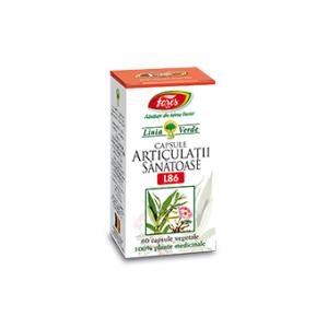 ARTICULATII SANATOASE L86, 60 capsule vegetale a 350 mg, Fares