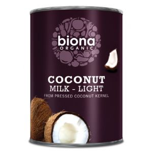 LAPTE DE COCOS LIGHT BIO, 400 ml, Biona