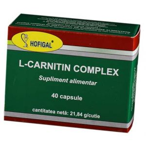 L- CARNITIN COMPLEX 40 comprimate, Hofigal