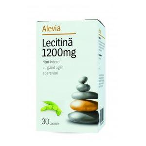 LECITINA 1200 mg, 30 capsule, Alevia