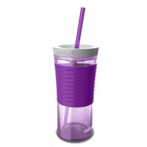 CANA DIN TRITAN CU PAI PENTRU SHAKE-URI, CAFEA SI ALTE BAUTURI - SHAKE & GO, 4 culori, 540 ml, Contigo