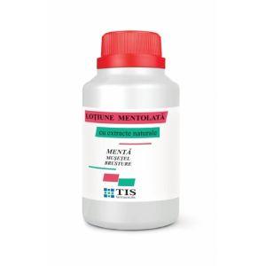 LOȚIUNE MENTOLATĂ CU EXTRACTE 100 ml, Tis Farmaceutic