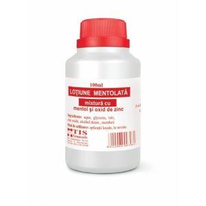 LOȚIUNE MENTOLATA 100 ml, Tis Farmaceutic