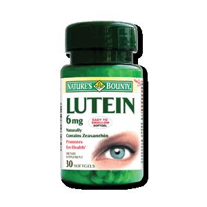 LUTEINA, 30 capsule, Nature's Bounty