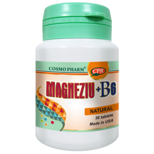 MAGNEZIU + B6 30 tablete, Cosmo Pharm