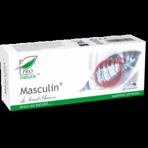 MASCULIN, 30/60/150 capsule, Laboratoarele Medica