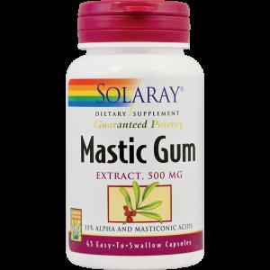 MASTIC GUM 500 mg, 45 capsule, Solaray