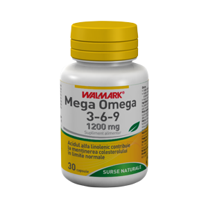 MEGA OMEGA 3-6-9, 30 capsule, Walmark