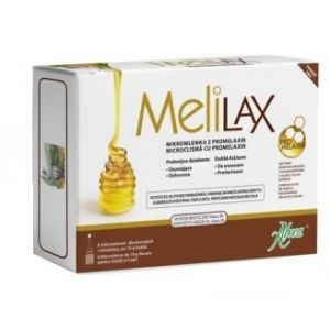 MELILAX PEDIATRIC - MICROCLISME CU PROMELAXIN PENTRU SUGARI SI COPII MICI, 6 buc x 5 g, Aboca