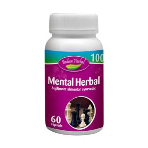 MENTAL HERBAL 60 caspule, Indian Herbal