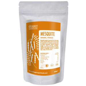 MESQUITE RAW BIO 200 g, Dragon Superfoods