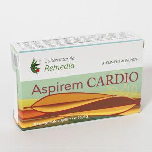 ASPIREM CARDIO Q10 30 comprimate, Laboratoarele Remedia