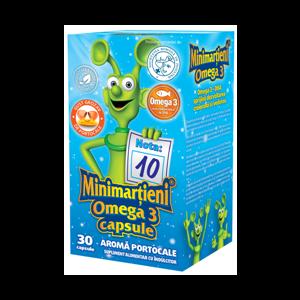 MINIMARTIENI OMEGA 3, 30 capsule, Walmark