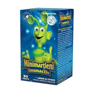 MINIMARTIENI IMUNACTIV CAPSUNI, 30/ 50 tablete, Walmark