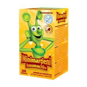 MINIMARTIENI IMUNACTIV PORTOCALE, 30/ 50 tablete, Walmark