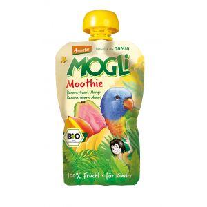 PIREU-MOOTHIE BIO (banane, guava, mango) 100 g, Mogli