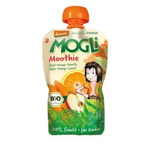 PIREU-MOOTHIE BIO (mere, portocale, morcovi) 100 g, Mogli