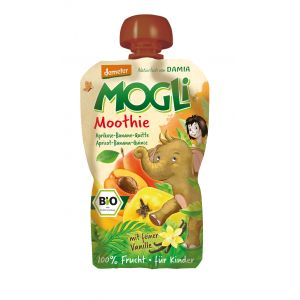 PIREU-MOOTHIE BIO (caise, gutui, vanilie) 100 g, Mogli