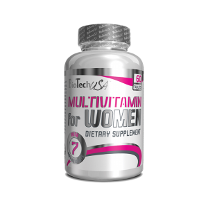 MULTIVITAMIN FOR WOMEN, 60 tablete, Biotech Nutrition