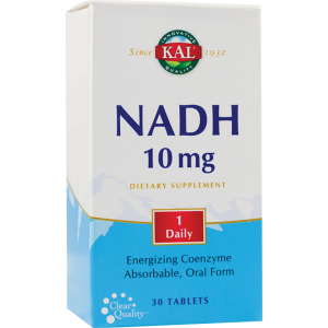 NADH 10 mg, 30 tablete, KAL