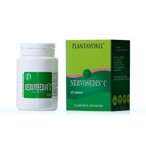 NERVOSEDIN C 20 tablete, Plantavorel