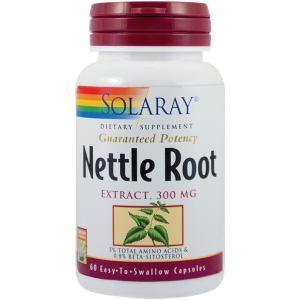NETTLE ROOT EXTRACT (Urzica) 60 capsule, Solaray